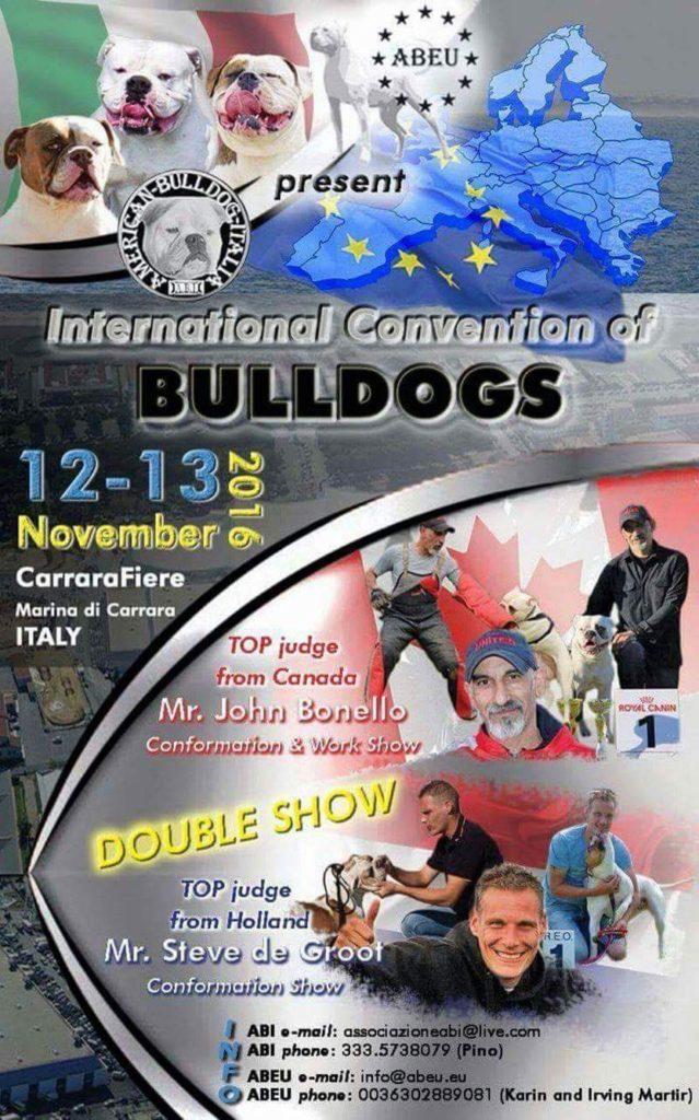 bulldogshow italie 2016